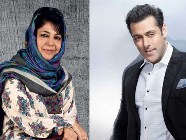 'Would like Salman Khan to promote tourism in Kashmir': Chief minister Mehbooba Mufti