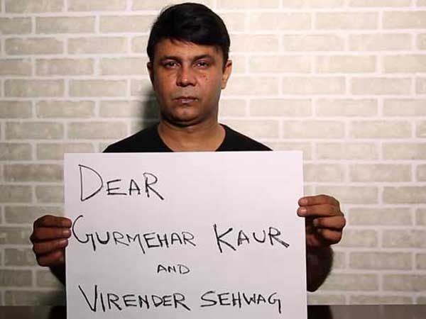 RJ Naved Has A Message For Gurmehar And Sehwag