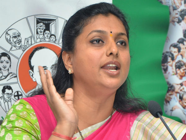 MLA RK Roja takes on Chandrababu Naidu over women protection