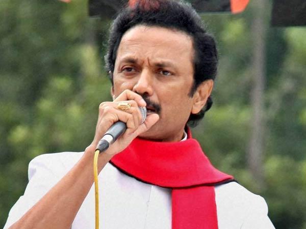 M K Stalin Threatens Launch Anti Hindi Movement