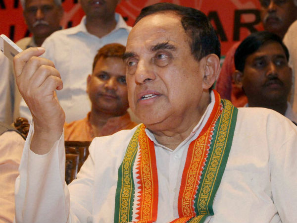 'Will enact law to build temple', tweets Subramanian Swamy