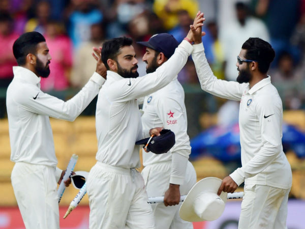 Virat Kohli-led Indian Test team assured of $1 million cash award