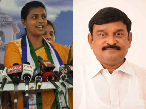 Vishnukumar raju lashes out at Roja