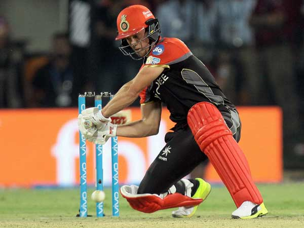 IPL 2017: RCB's AB de Villiers ruled out of GL match in Rajkot