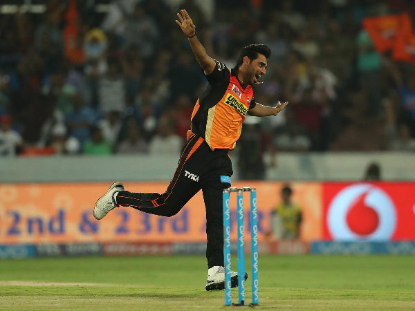 IPL 2017: I am 'used to it', says SRH's Bhuvneshwar Kumar after tense win