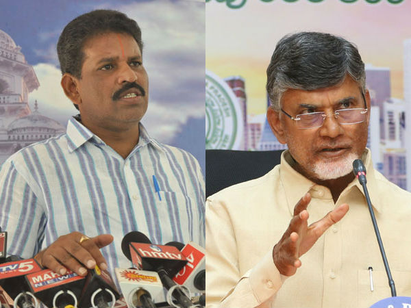 chittoor collector was the binami of chandrababu says chevireddy