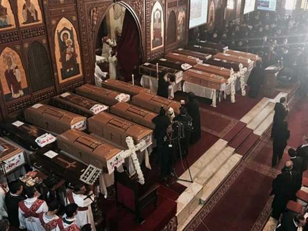 Egypt: 21 killed in explosion at Coptic Christian church