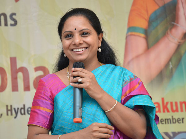 Trs nri cell met MP Kavita to discuss on scholarships