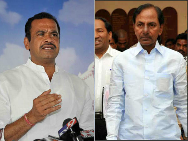 komatireddy venkatareddy slams kcr over irrigation projects