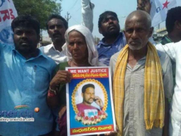 Another Attack On Dalith Karimnagar
