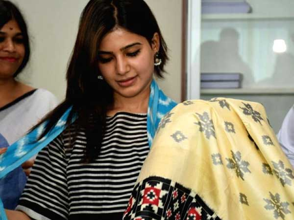 Samantha to endorse handloom products