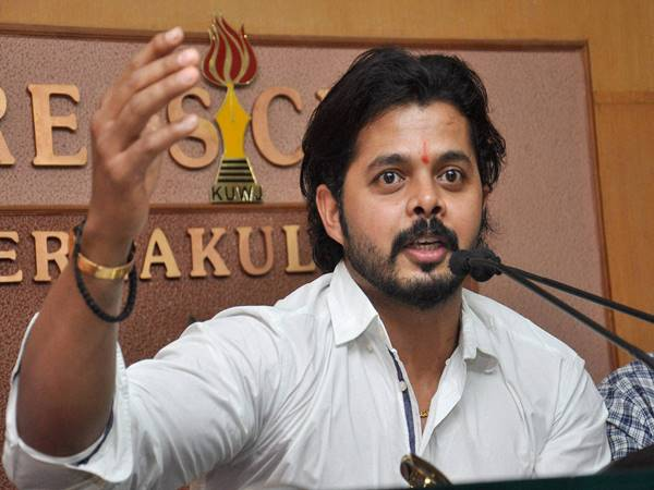 BCCI writes to Sreesanth, says life ban will stay