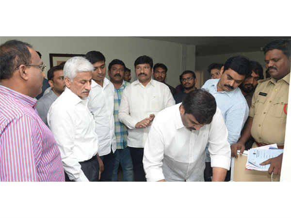 Ap Police Raids Ysrcp Digital Media Office