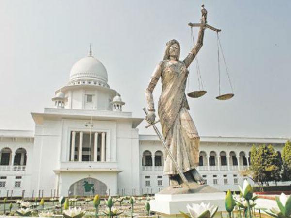 బంగ్లాదేశ్లో..  'న్యాయదేవత'నే లేపేశారు! ప్రధాని కూడా ఒక స్త్రీ.. అయినా...