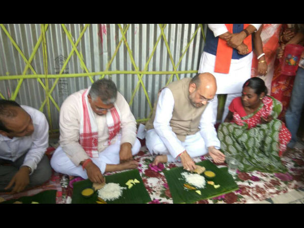 Mahalis, who Offered Food to Amit Shah, Join TMC After Disappearing For A Night