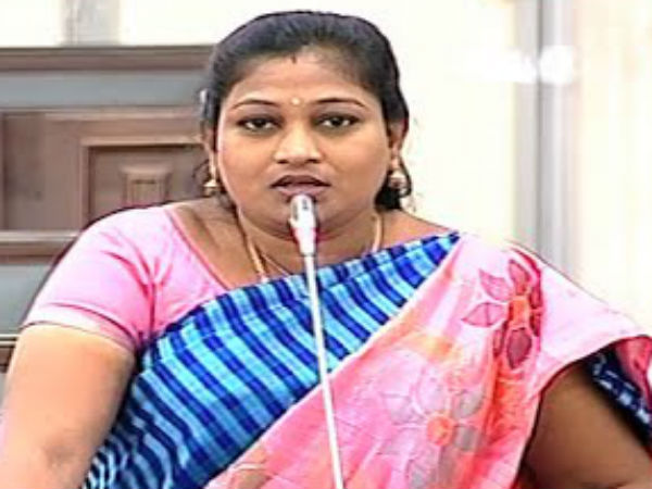 Tdp Mla Anita Over Political Punch Issue