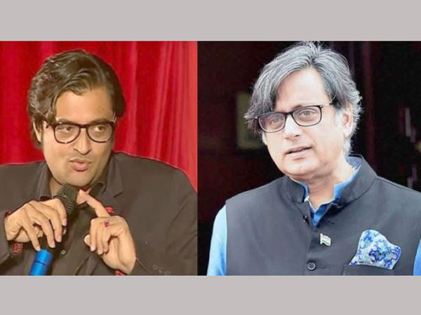 realisation for arnab goswami after shashi tharoor approached court