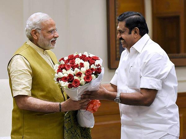Edappadi Palanisamy Today Meet Prime Minister Modi Delhi