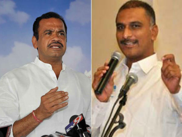 komatireddy venkata reddy to mobilise huge crowd for harish rao's public meet
