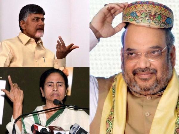 రాష్ట్రపతి ఎన్నిక: ఏకగ్రీవం చేద్దాం.. మమతతో మాట్లాడండి..  బాబును కోరిన షా!?