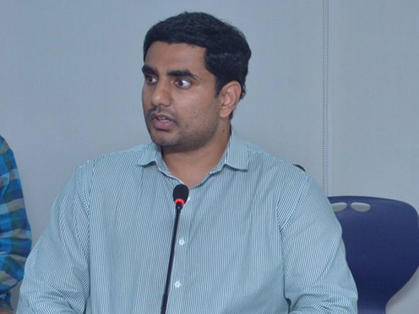 Lokesh Says He Is Not Interested Minister S Post