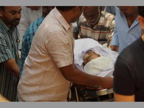 Minister Narayana S Son Dead Body Shifted Nellore Funerals