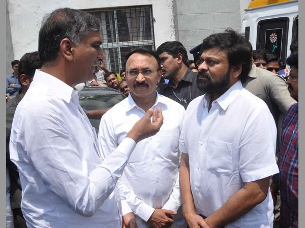 Harish Rao Reviewed Arrangements At Hospital Nishith Naraya