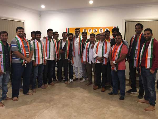 nri congress cell elected in australia