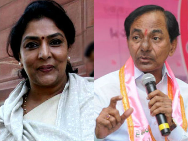 renuka chowdary fires at CM KCR for farmers issue