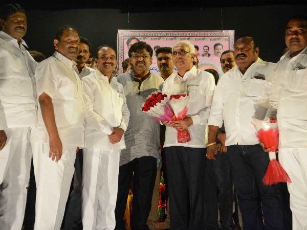 Nandini Sidhareddy Takes Charge Telangana Sahitya Academy S