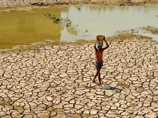 Telangana had faces severe drought in 2016