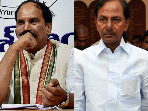 Uttam Kumar Reddy lashes out at KCR government