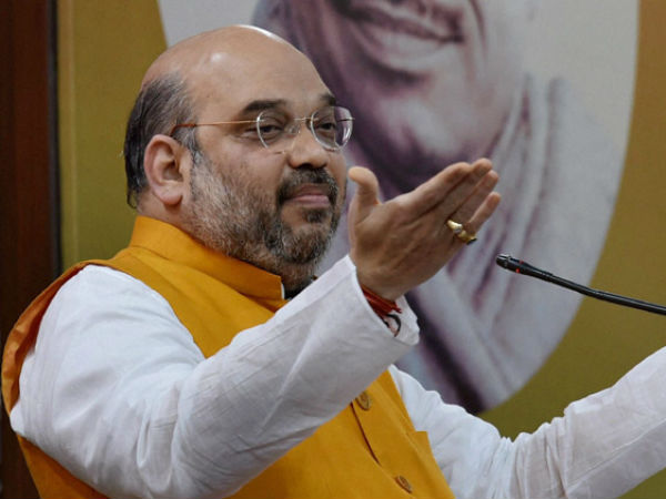 Amit Shah forms presidential poll panel in BJP