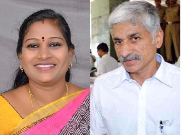 Vijaya Sai Reddy should touch my feet if he failed to prove allegations on me: Anitha
