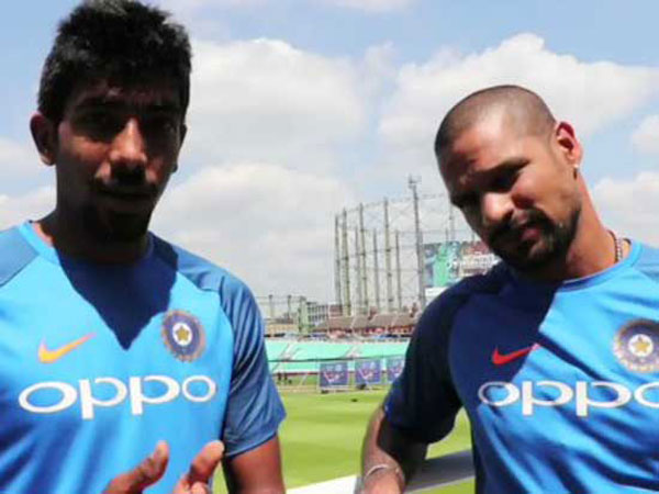India vs Pakistan Final, ICC CT 2017: Shikhar Dhawan has advice for Jasprit Bumrah ahead of crunch game
