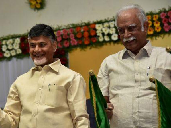 Chandrababu announces District presidents name