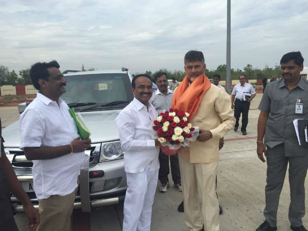 Amaravati is developing, says Etela Rajender