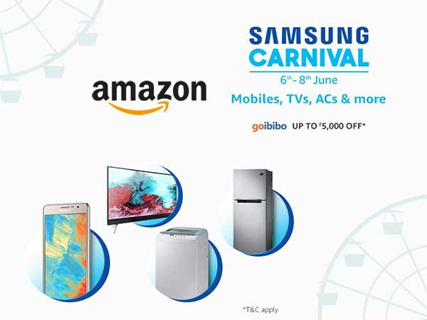 'Too Much to Shop, In Too Less Time': SAMSUNG CARNIVAL on AMAZON, Get Up to 80% Off*