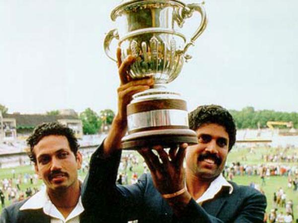 ఇదేరోజు: 1983 లో వెస్టిండీస్ ను ఓడించి ప్రపంచకప్ ను గెల్చుకొన్న కపిల్ సేన