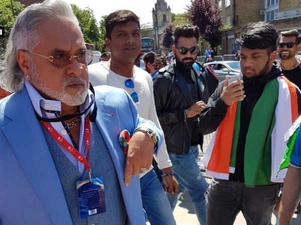 Champions Trophy: Vijay Mallya booed during India-South Africa match in London
