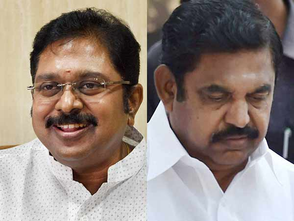 RK Nagar by polls bribery: EC directs FIR against TTV Dinakaran, CM Palanisamy