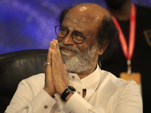 Rajinikanth meets farmers, assures support for linking rivers and pledges ₹1 crore