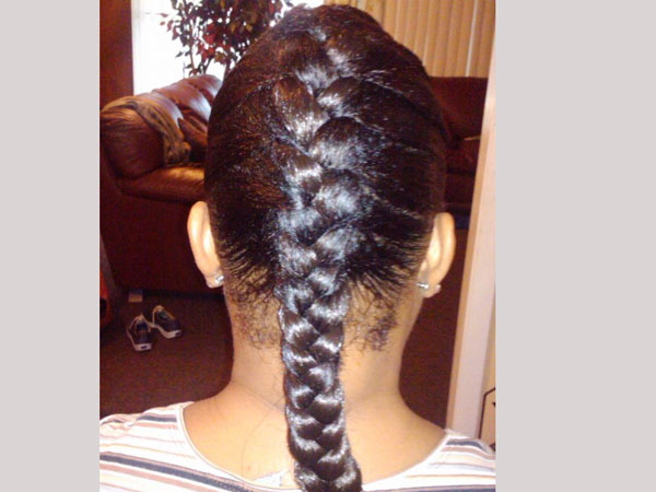Students punished for sporting single braid