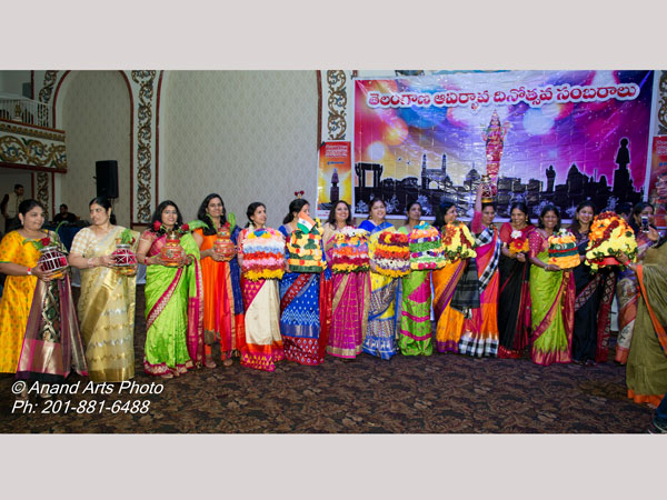 grand celebrations of telangana formation day in new jersey