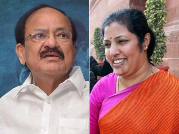 Venkaiah Naidu Purandheswari On 2019 Elections