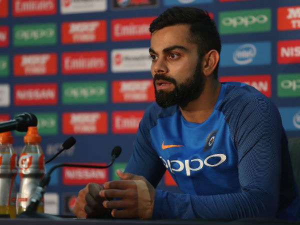 ICC Champions Trophy 2017: Virat Kohli bemused after confusing question by journalist