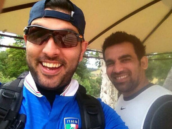 ICC Champions Trophy: This Twitter conversation between Yuvraj Singh, Zaheer Khan is winning the Internet