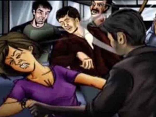 A Woman Kidnapped Gangraped Kakinada