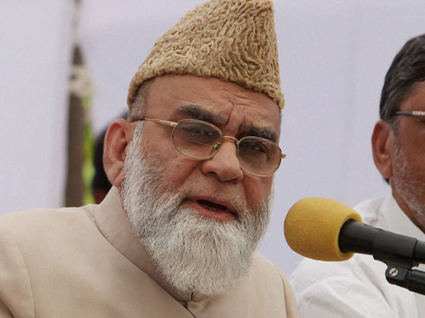 Imam Bukhari Writes to Pak PM Nawaz Sharif, Asks Him to Initiate Talks in Kashmir