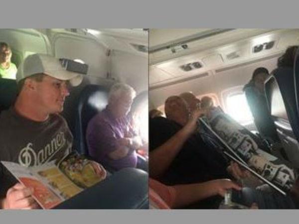 Water Drips On Passengers On Florida Flight